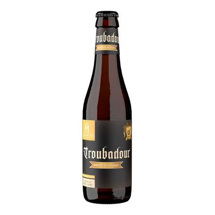 Bierflesje Troubadour Imperial Stout