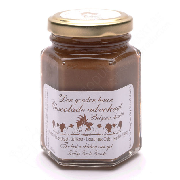 Potje advocaat chocolade (125 g)