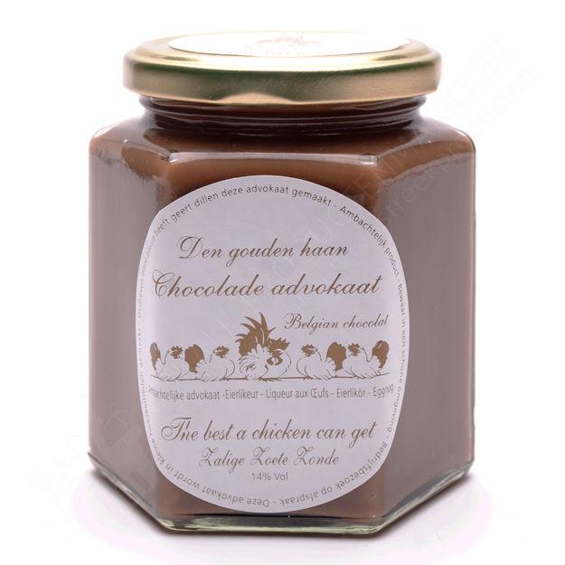 Potje advocaat chocolade (400 g)