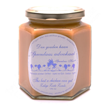 Potje advocaat speculaas (400 g)