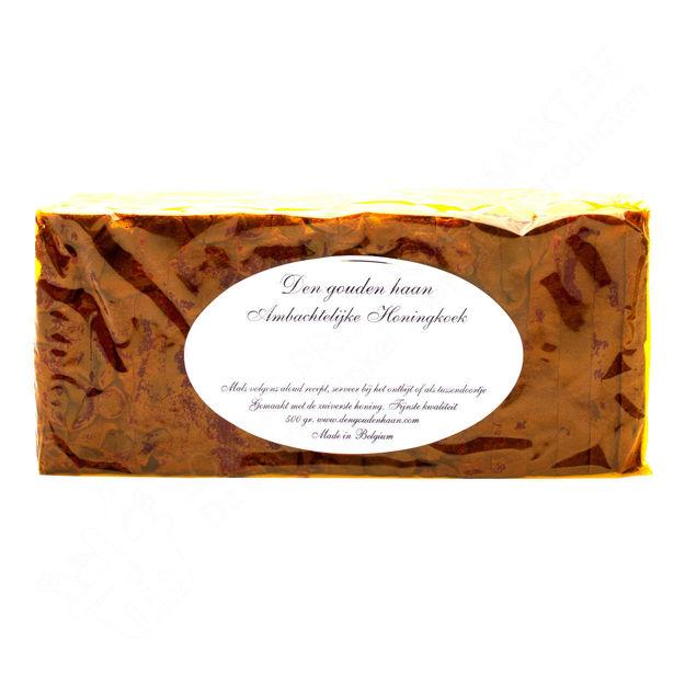 Ambachtelijke honingkoek natuur (500 g)