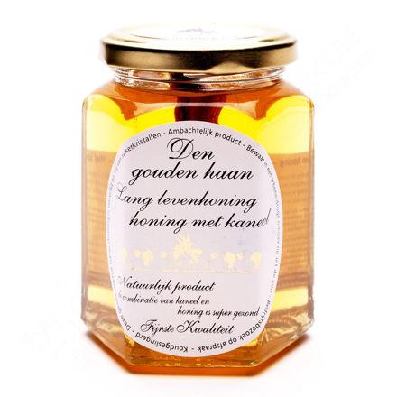 Potje lang leven honing - honing met kaneel (350 g)