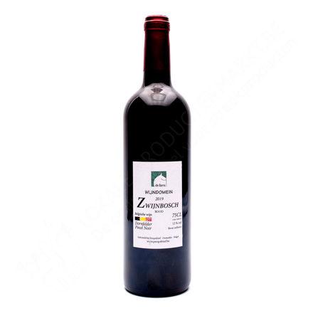 Fles Zwijnbosch Rood 2019 - Pinot Noir en Dornfelder 12 % (75 cl)