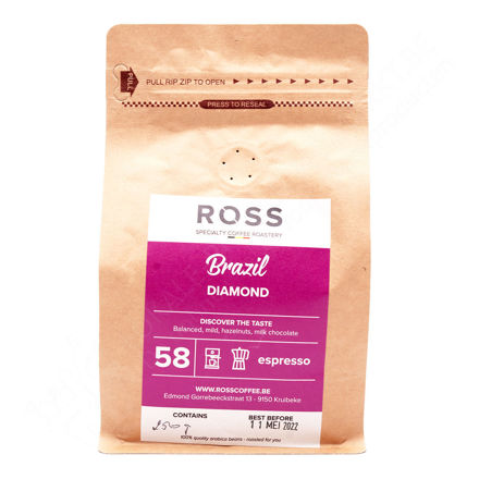 Pakje Brazil Diamond 58 - espresso (250 g)