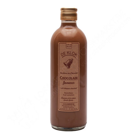 Fles De Klok - Chocoladejenever 17% (50 cl)