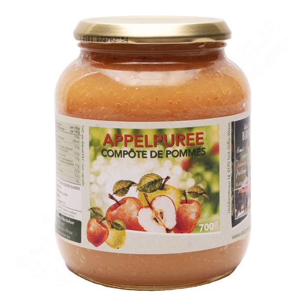 Bokaal Fruitbedrijf Berckelaer - Appelpuree (700 gr.)