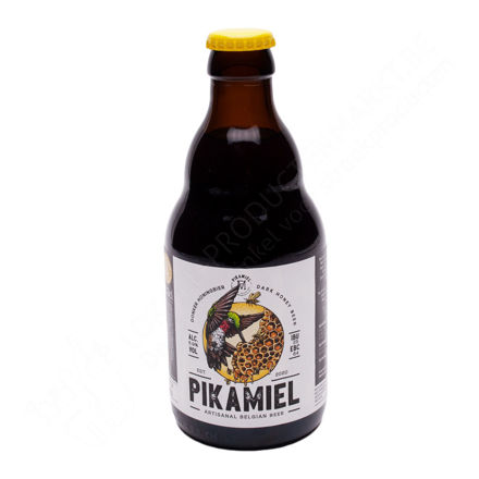 Flesje Pikamiel - Donker honingbier 6,9 % (33 cl)