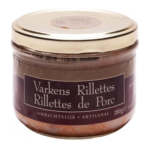 Potje Varkens Rillettes (180 g)